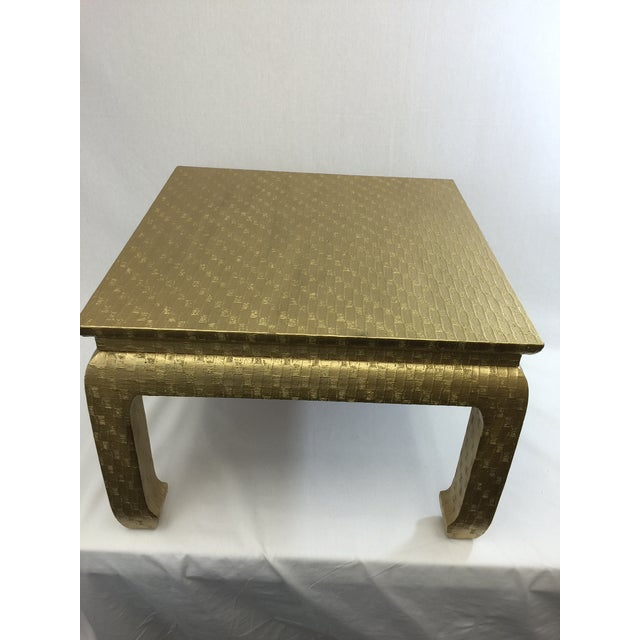 Gold Ming Foot Small Table - Image 4 of 5