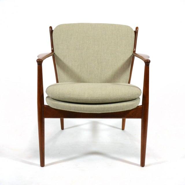Baker Furniture Company Finn Juhl Delegates Chair For Sale - Image 4 of 11