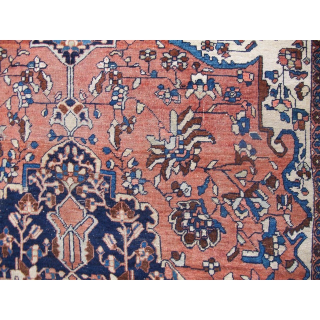 19th Century Fereghan Sarouk Rug For Sale In San Francisco - Image 6 of 10