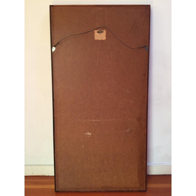 Wood Mid-Century Glass Master Markaryd Rectangular Mirror For Sale - Image 7 of 9