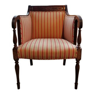 Southwood Mahogany Wheatback Chair From Waldorf Astoria New York City For Sale