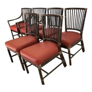 McGuire Prescott Dining Chairs - Set of 6