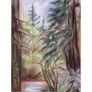 Kathleen Ney Pastel Landscape Drawing For Sale