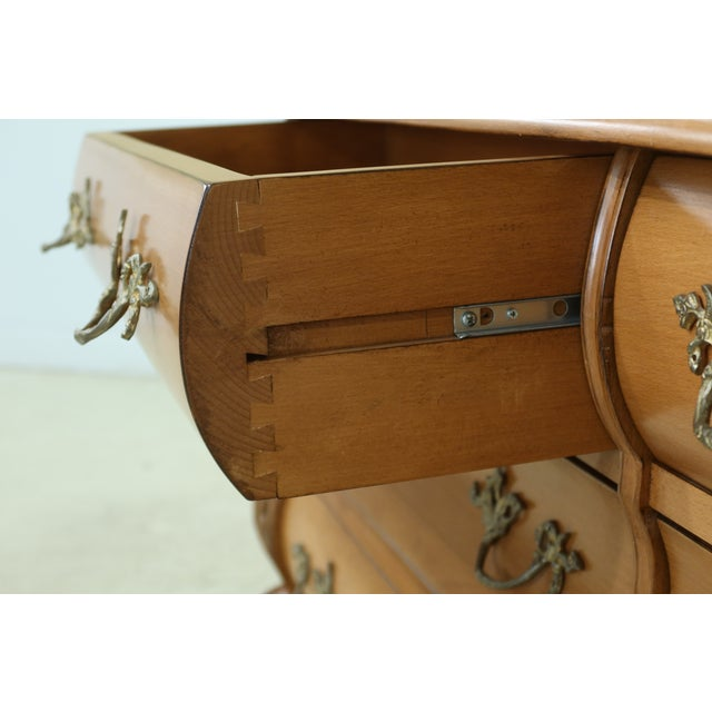 French Baroque Style 6 Drawer Dresser For Sale - Image 10 of 11