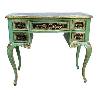 1900s Chinoiserie Writing Desk For Sale