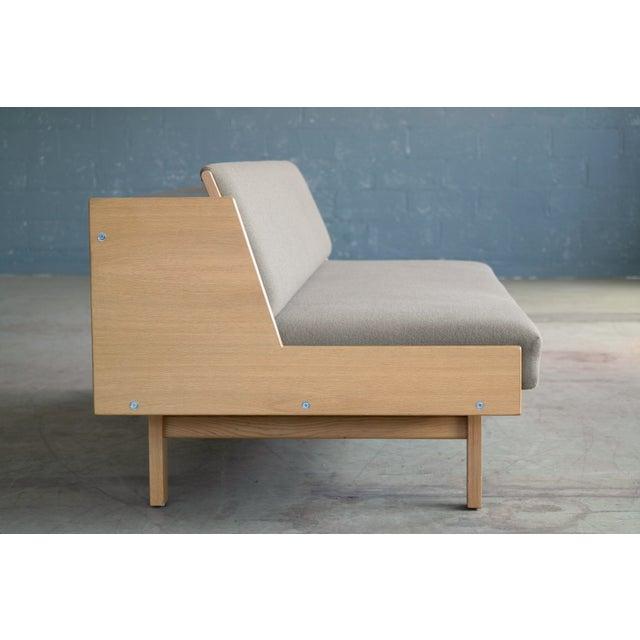 Hans Wegner for GETAMA Model 258 Oak Sofa or Daybed For Sale - Image 5 of 11