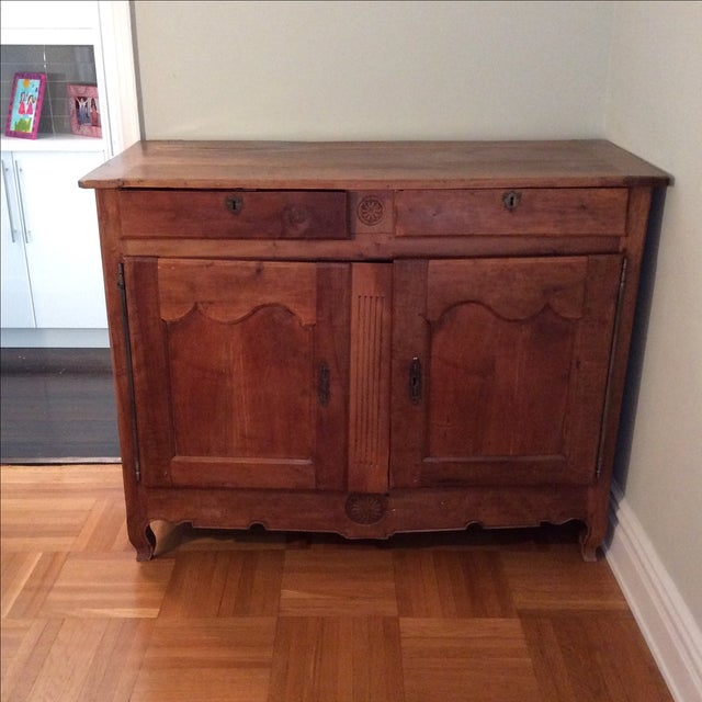 Antique French Dining Hutch - Image 2 of 7