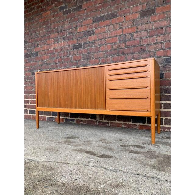 Wood 1960s Mid-Century Modern Teak Danish Credenza For Sale - Image 7 of 7