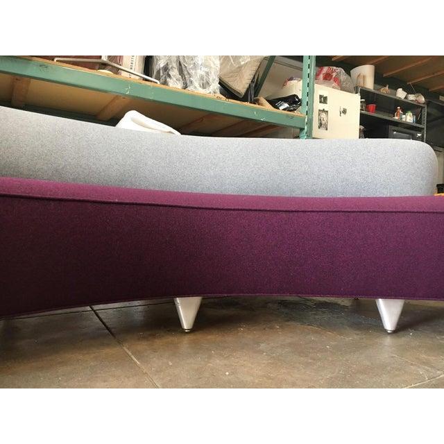 Vladimir Kagan Serpentine Sofa For Sale - Image 9 of 11