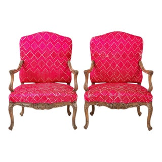 Late 18th Century Antique Louis XV Chairs - a Pair For Sale