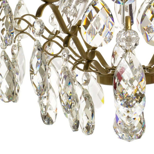 Not Yet Made - Made To Order Baroque Six-Light Chandelier For Sale - Image 5 of 11