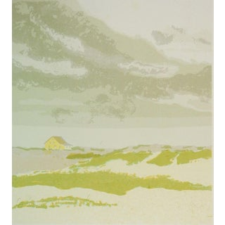 """Gertrude Wetmore """"Storm Clouds Over The Dunes"""" Serigraph For Sale"""