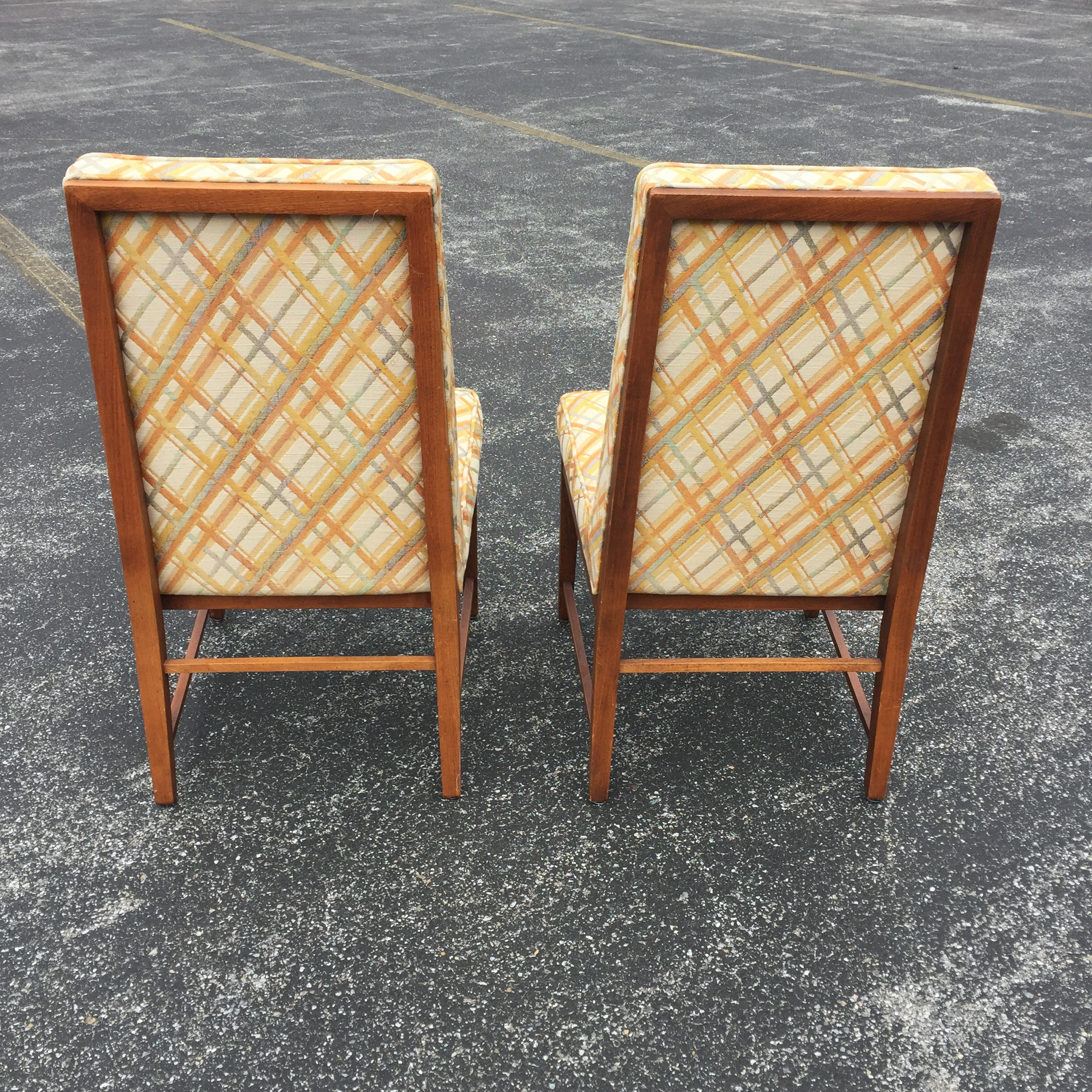 Thomasville Thomasville Founders Parson Chairs   A Pair For Sale   Image 4  Of 11