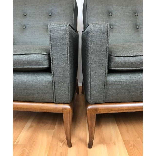 Robsjohn-Gibbings for Widdicomb Lounge Chairs - A Pair - Image 9 of 9