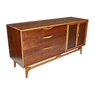 1960s Lane Furniture Walnut Dresser