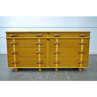 "Paul Frankl for Johnson Furniture ""Station Wagon"" Dresser 8 Drawer Chest Preview"