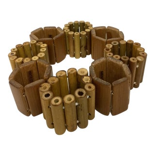 Bamboo Napkin Rings - Set of 8