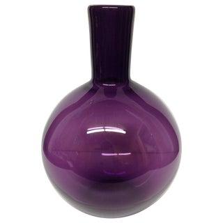 Large Purple Murano Glass Vase