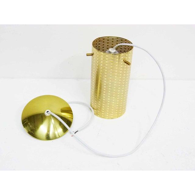 Pierced Pendant Lights by Lightolier - Set of 3 - Image 10 of 10