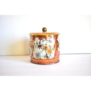 Vintage English Chinoiserie Tea Tin Preview