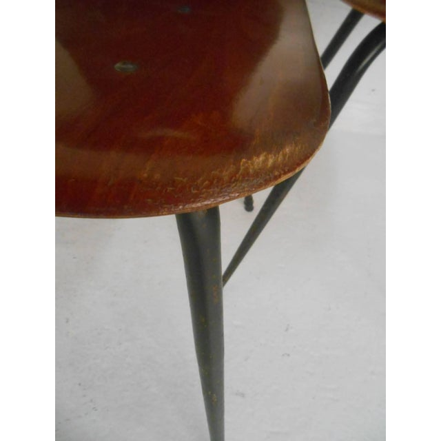 Brown Adam Stegner for Pagholz Flötotto Sculpted Chairs - Set of 6 For Sale - Image 8 of 9