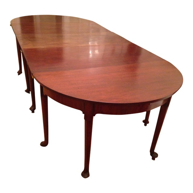 1740 English Traditional Dining Table For Sale
