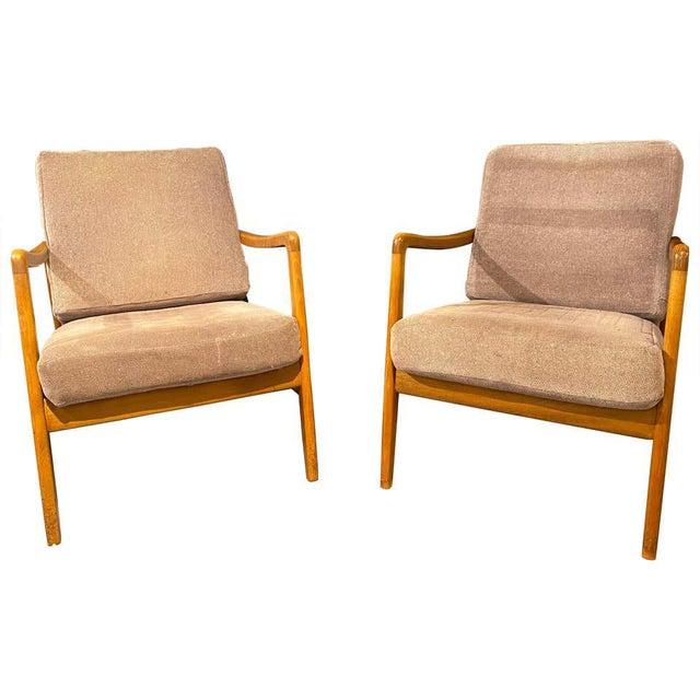 France and Daverkosen Teak Armchairs, Mid-Century Modern For Sale - Image 13 of 13