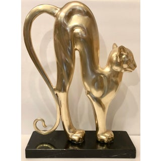 Hattakitkosol Somchai Bronze Cat Signed