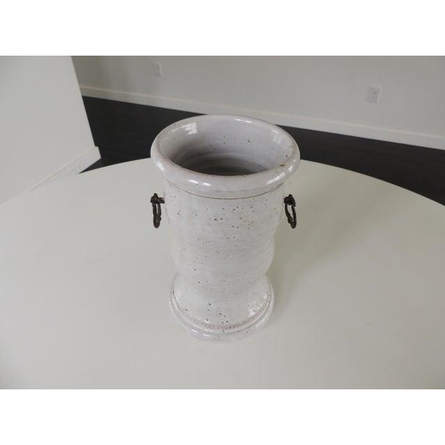 Ceramic 1960s Vintage Bitossi for Raymor Italian Vase For Sale - Image 7 of 9