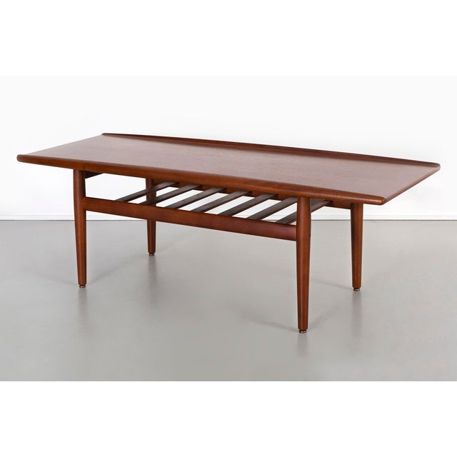 Grete Jalk Coffee Table For Sale - Image 9 of 9