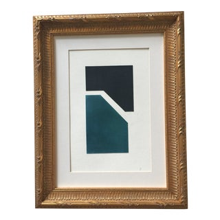 Geometric Painted Collage