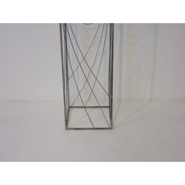 Mid-Century Modern Curtis Jere Sculptural Pedestal For Sale - Image 3 of 7