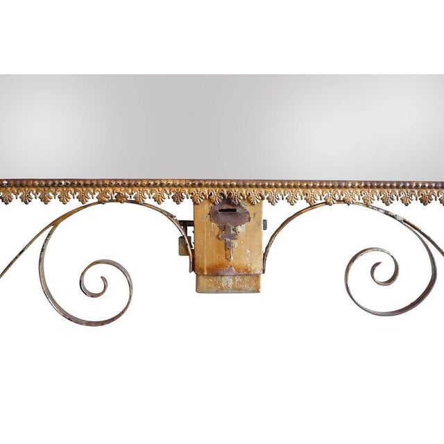Wrought Iron Church Offerings Console - Image 4 of 7