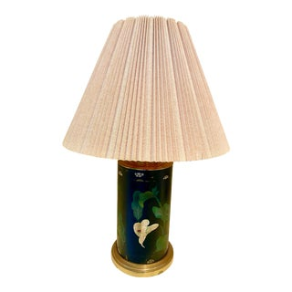 1950s Oriental Style Table Lamp For Sale