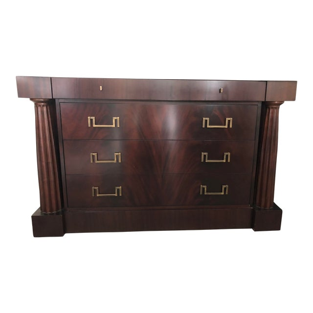 Thomas Pheasant Baker Furniture Temple Chest For Sale