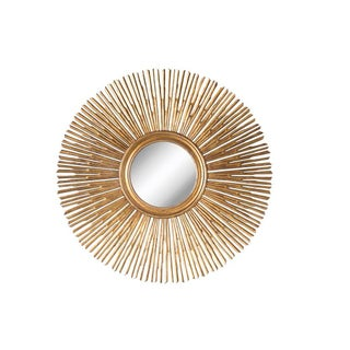 Sunburst Style Gold Wall Mirror Preview
