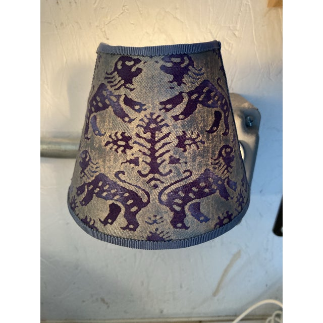 Fortuny Contemporary Purple Fortuny Night Light For Sale - Image 4 of 5