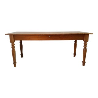 Rustic Farmhouse Dining Table For Sale