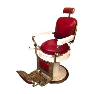 Antique Koch Barber Chair