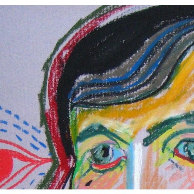 Surrealism Michael di Cosola Surrealist 20th C. Portraits For Sale - Image 3 of 3