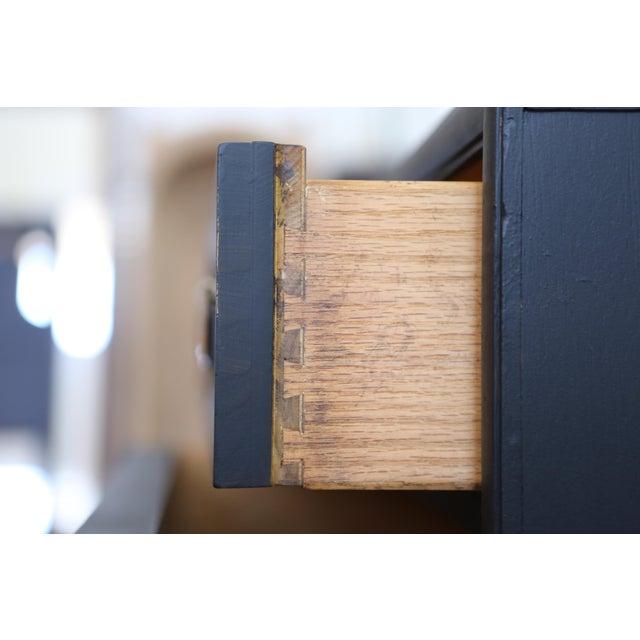 Mid Century Modern Black Dresser - Image 9 of 9