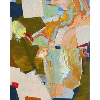 """""""I Am Determined to Take My Chances"""" Contemporary Abstract Expressionist Acrylic Painting by Brenna Giessen For Sale"""