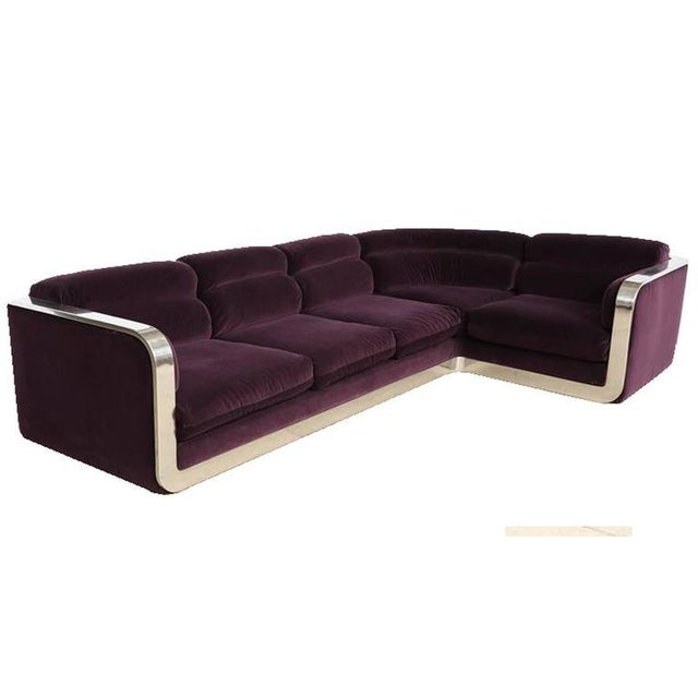 Mid-Century Modern Corner Sofa by Maxform, circa 1960s For Sale - Image 3 of 10