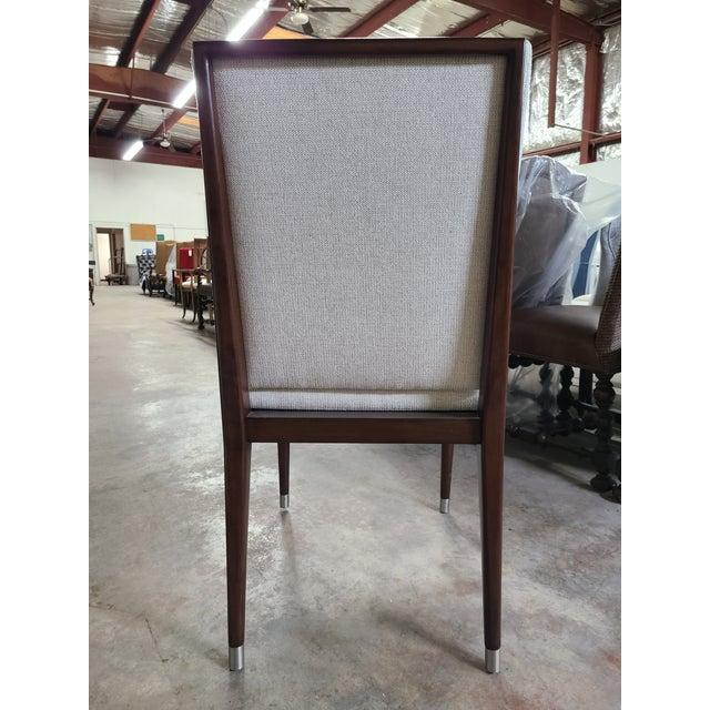 Henredon Henredon Furniture David Kleinberg Talice Upholstered Dining Chair For Sale - Image 4 of 7