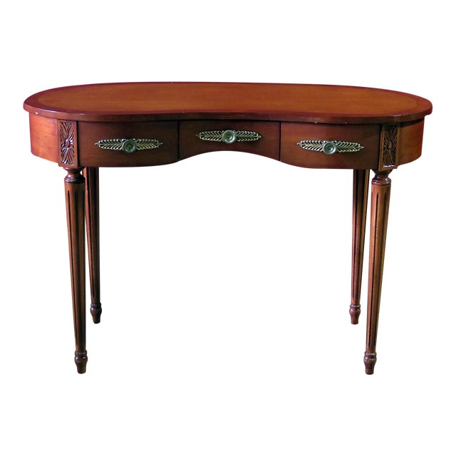 Louis XVI Style Inlaid Writing Desk For Sale
