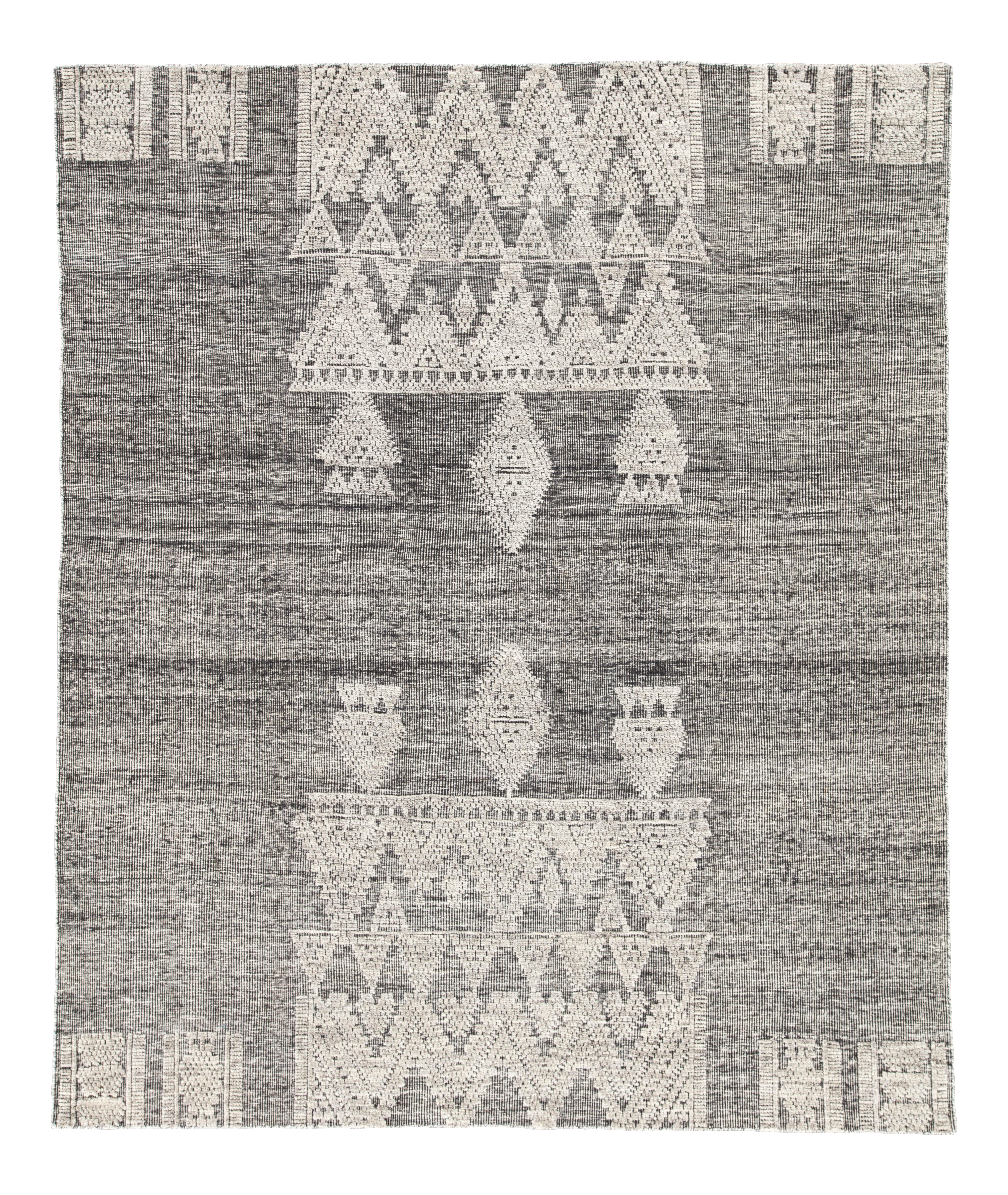 Jaipur Living Torsby Hand-Knotted Geometric Area Rug - 9′ × 12′ For Sale