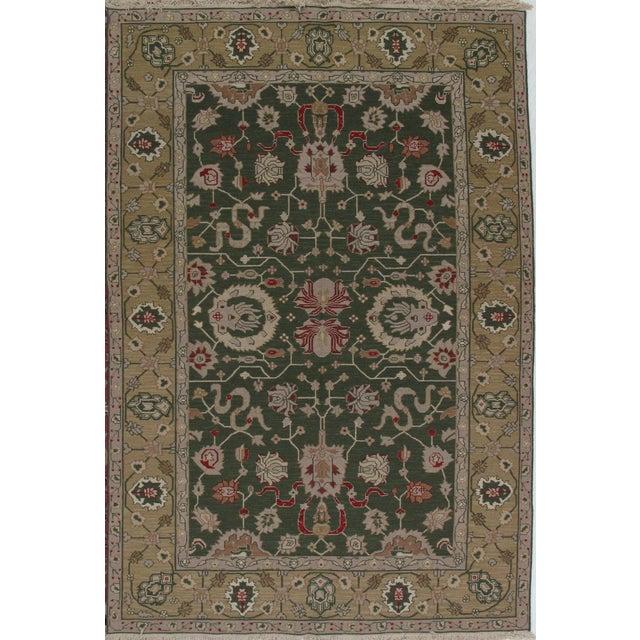 Soumak Design Hand Woven Wool Rug - 8' X 10' - Image 5 of 5