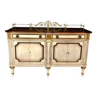 Louis XVI Style Sideboard Buffet Cabinet by Karges Furniture For Sale