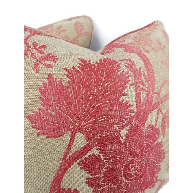 Osborne & Little Nina Campbell for Osborne Little Amazonas Self-Welt Backed Casamance Pillow Cover For Sale - Image 4 of 7