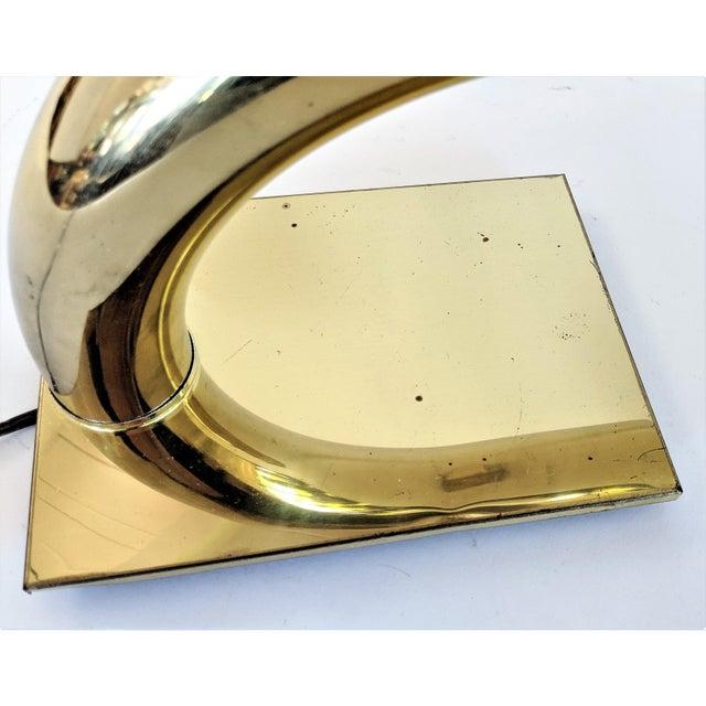 Brass Tubular Desk Lamp by Jim Bindman for Rainbow Lamp Co. 1970s For Sale - Image 10 of 13